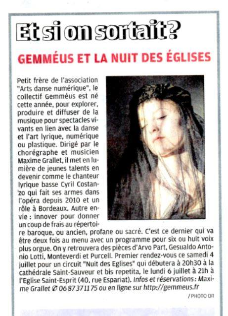 article la provence gemmeus